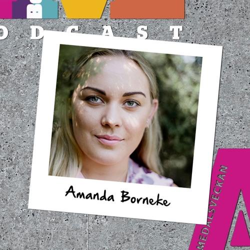 Amanda Borneke i Almedalen