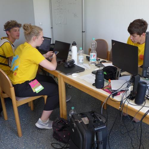 Turnfest-Podcast, Folge 11: Die Tuju-Reporter