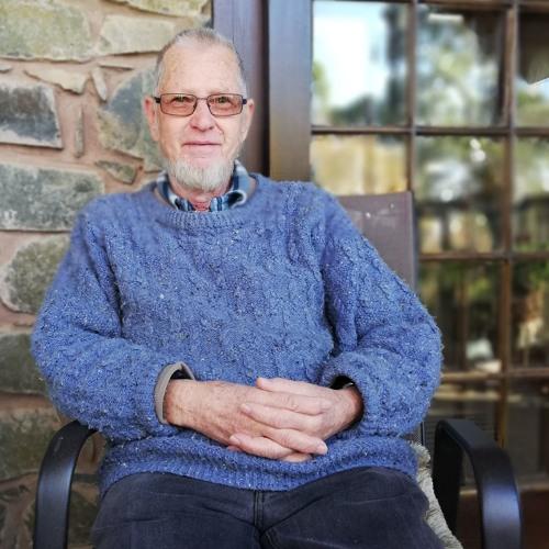 Richard Blyth,owner of Leafy Lane accommodation in Howick, KZN