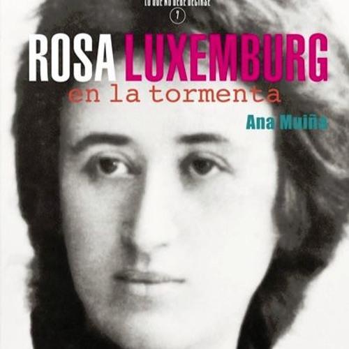 «Rosa Luxemburg, en la tormenta» de Ana Muiña