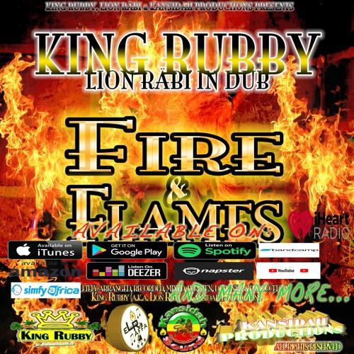 "King Rubby - ""Flames Dub"" (Lion Räbi in Dub, ""Fire & Flames"" album / Kansidah Productions)"