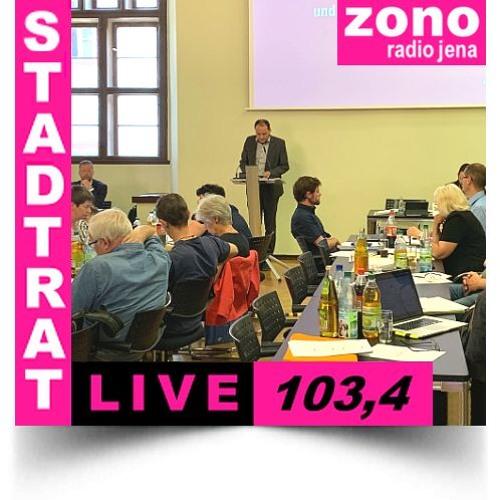 Hörfunkliveübertragung (Teil 5) der 2. Sitzung des Stadtrates der Stadt Jena am 03.07.2019