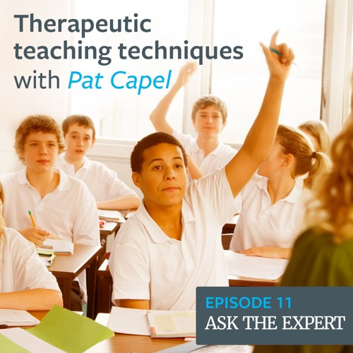 Episode 11: Therapeutic teaching techniques – with Pat Capel