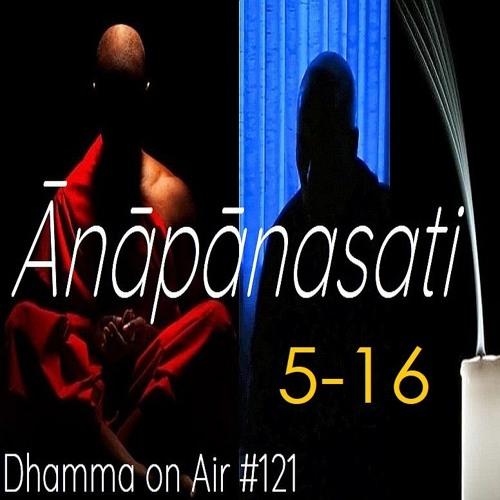 Guided Ānāpānasati Breathing Meditation steps  5 - 16