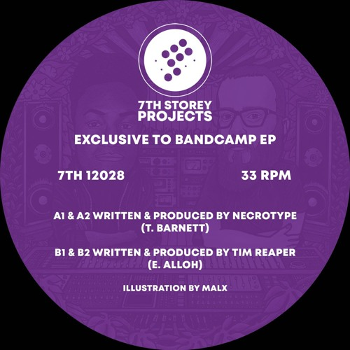 Tim Reaper - Untitled - Exclusive To Bandcamp E.P - 7TH 12028 - B1