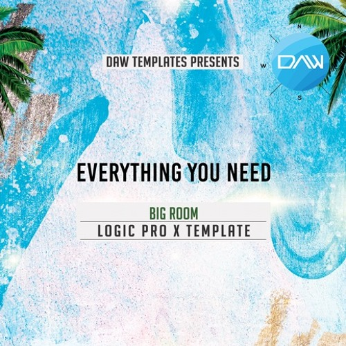 Everything you need Logic Pro X Template