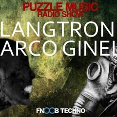 Klangtronik - Puzzle Music Radio Show W. Marco Ginelli (FNOOB TECHNO RADIO 04.07.2019)