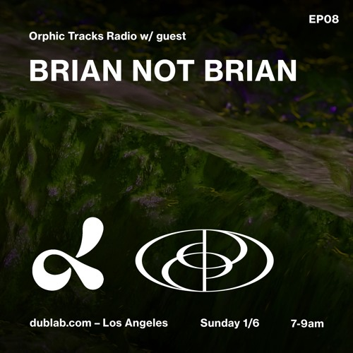 Orphic Tracks w/ guest Brian not Brian (ep08) - 2019.01.06
