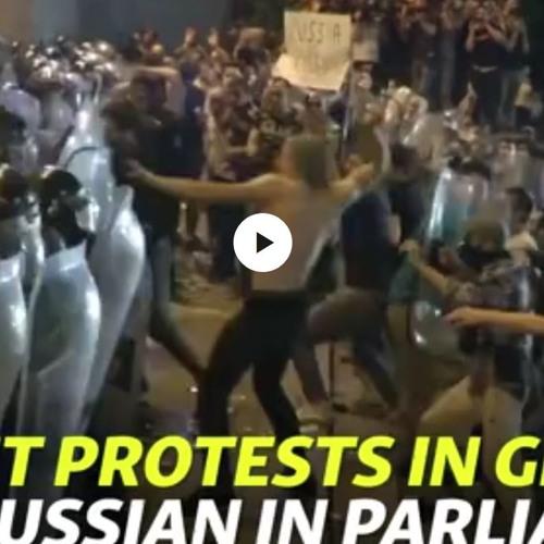 Crisis in Georgia-Russians challenge Putin's civilizationalist ambition