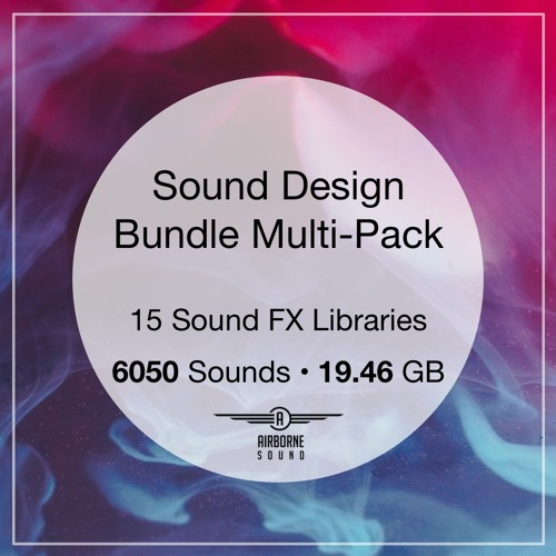 Sound Design Multi Pack Sound Library Audio Demo Preview Montage