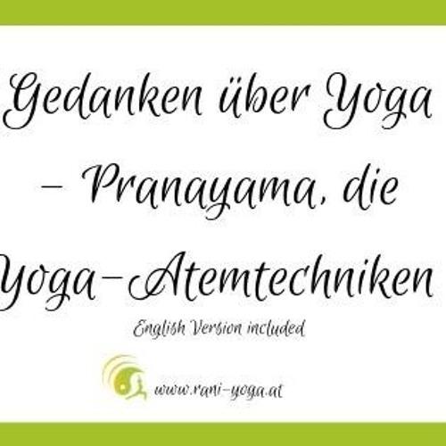 Gedanken Über Yoga - Pranayama