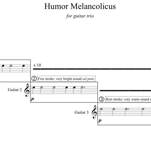 HUMOR MELANCHOLICUS
