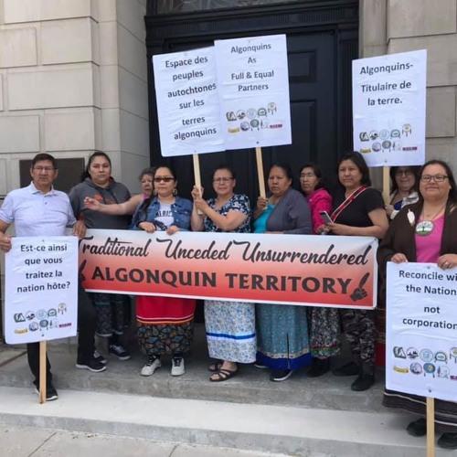 Recap on Algonquin Protest, Grand Chief Verna Polson Hunger Strike