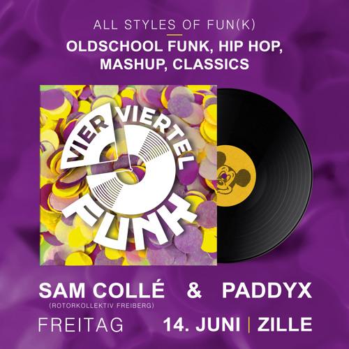 Paddyx w/ Sam Collé - Live @ Vier Viertel Funk BRN 2019