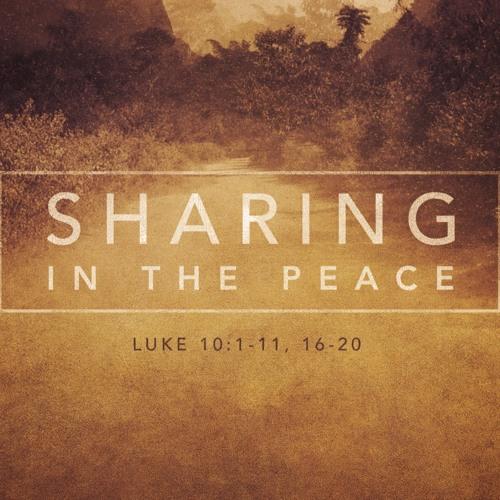 """7-7-2019 """"Share the Peace"""" Rev. Clay Thomas"""