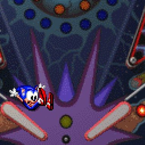 Space Level (Unused) - Sonic Spinball