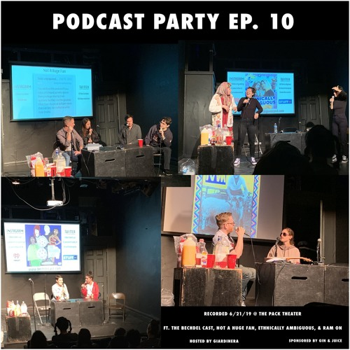 Ep. 10 (The Bechdel Cast, Ethnically Ambiguous, Not A Huge Fan, Ram On)