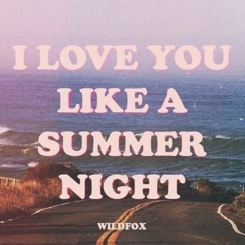 sweet summer night