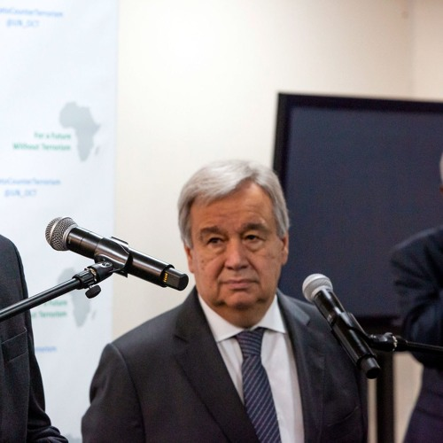 CLIP - UN chief António Guterres counter-terrorism speech, Nairobi 10 July 2019