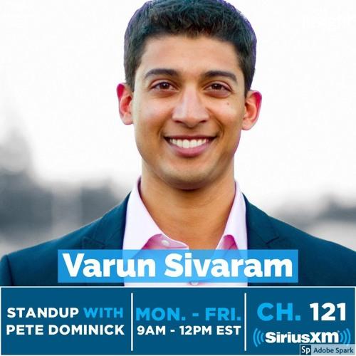 SIRIUS XM: Standup With Pete Dominick, feat. Dr. Varun Sivaram, CTO of ReNew Power