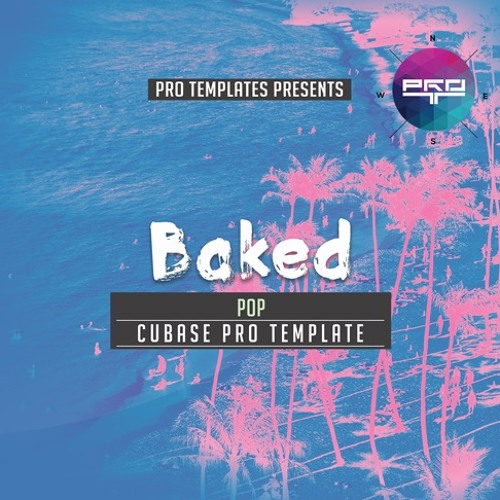 Baked Cubase Pro Template