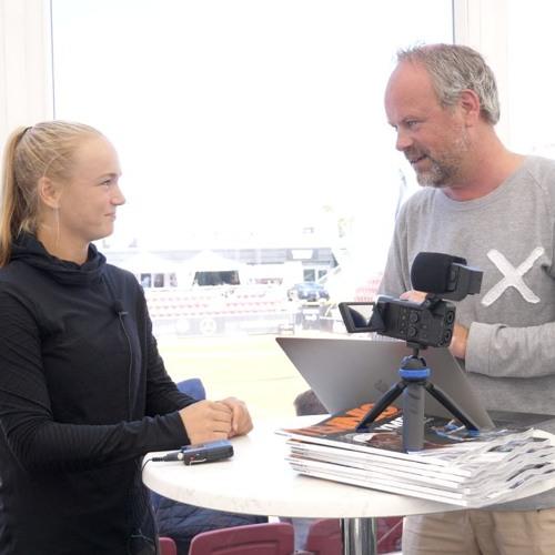 Caijsa Hennemann gästar Svenska Tennispodden