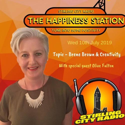 WELLBEING RADIO SHOW 10TH JULY 2019 - BRENE BROWN & CREATIVITY