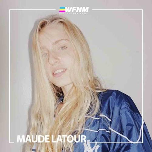 Maude Latour - 'Starsick' (LIVE) on WE FOUND NEW MUSIC