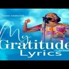 Diana Hamilton - My Gratitude Lyrics