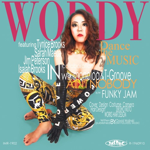 "WODDYFUNK "" FUNKY JAM "" feat Sarah Maeda promotion short Ver."