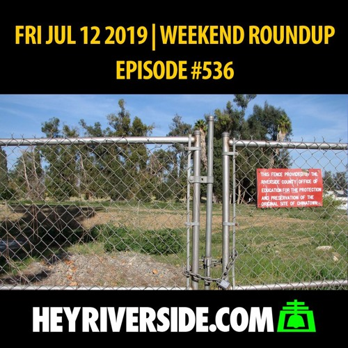 EP0536 FRIDAY JUL 12TH - WEEKEND ROUNDUP