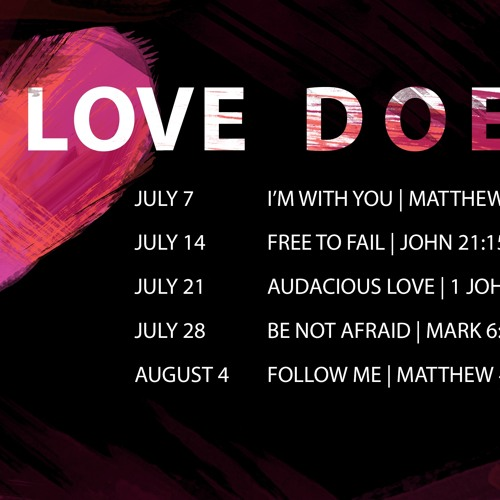 Love Does: I'm With You  | Matthew 1:18-23 | Sermon by Pastor Amy