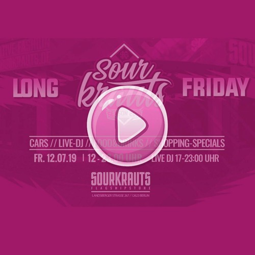 Sourkrauts Long Friday - 12.07.19 - DJ T-SPIN Oldschool HipHop