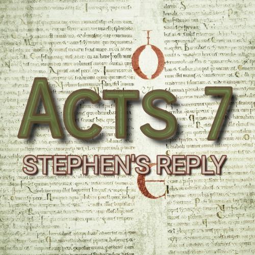 Acts 7 (preacher: Keith Cooper)