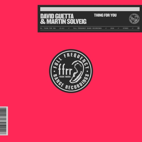 David Guetta & Martin Solveig - Thing For You [FREE DOWNLOAD