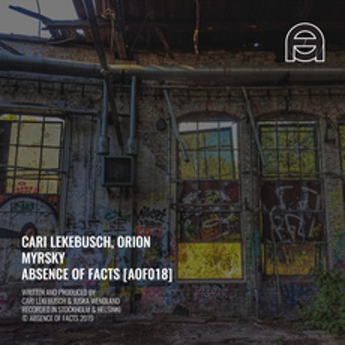 Premiere: Cari Lekebusch, Orion - Miner(Absence of Facts)