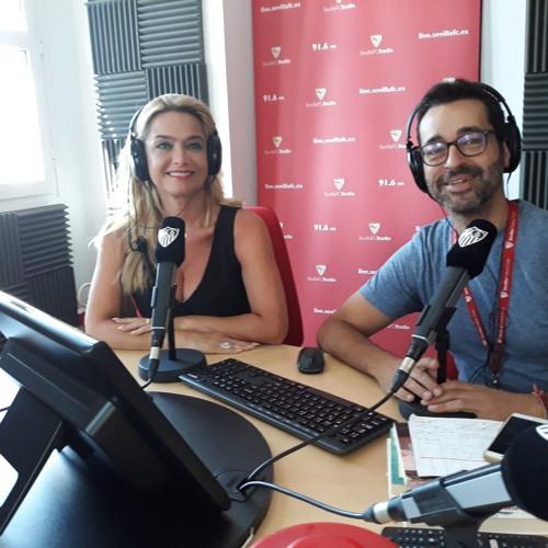 Lola Ojeda presenta L&M Tu Silueta en Sevilla FC Radio