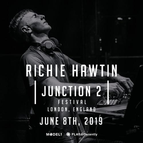 Richie Hawtin - Junction 2 - London, UK 08.06.2019