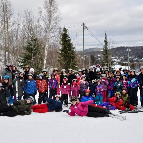 Skiing at Mt. Chantecler - Interview