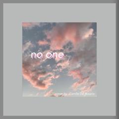 No One - Alicia Keys/Rex Orange County (cover by Camille Del Rosario)
