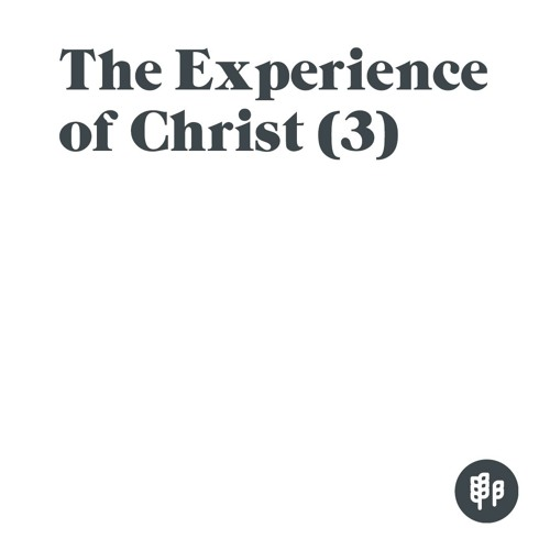 Experiencing Christ as Our Constant Salvation - MC