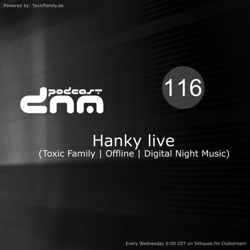 Digital Night Music Podcast 116 Hanky live