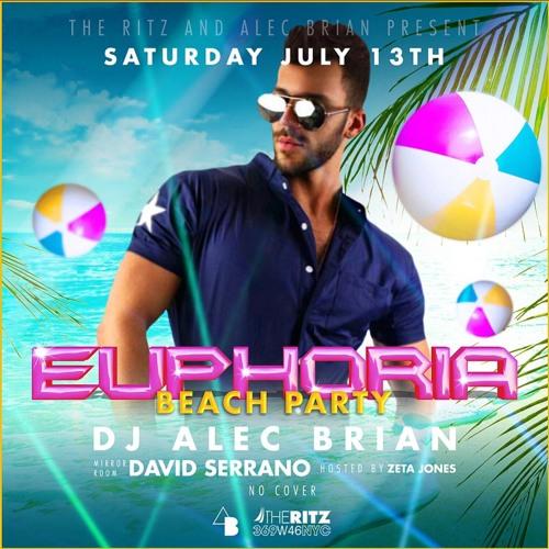 Euphoria- Beach Party @Ritz NYC 7/13