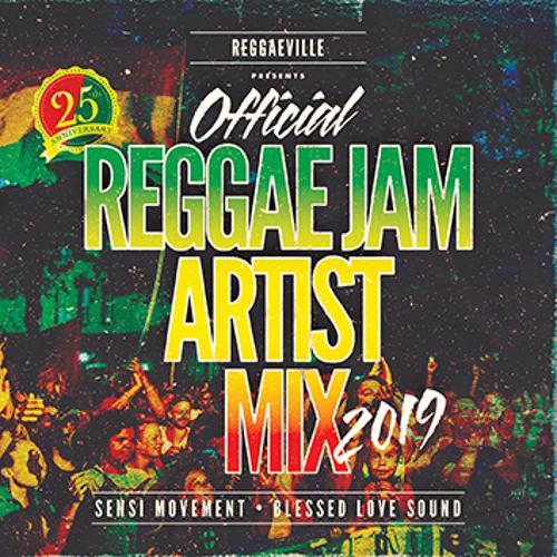Reggae Jam 2019 - Official Artist Mix (Blessed Love Sound & Sensi Movement}