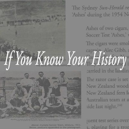 Adam Winkel on If You Know Your History   July 18 2019   FNR Football Nation Radio