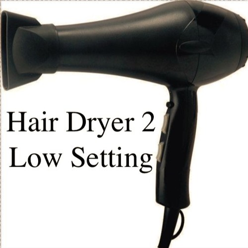 Hair Dryer 2 *Low* Setting - by White Noise Sounds