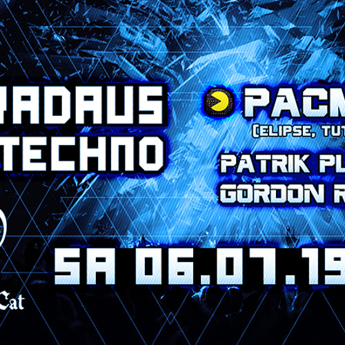 Patrik Plavcic B2B Gordon Raddei, Synthicat Karlsruhe 06.07.2019