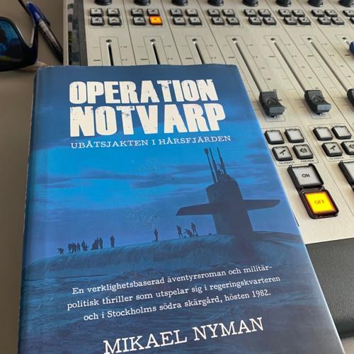 "Sommarboktips ""Operation Notvarp"" av Mikael Nyman"