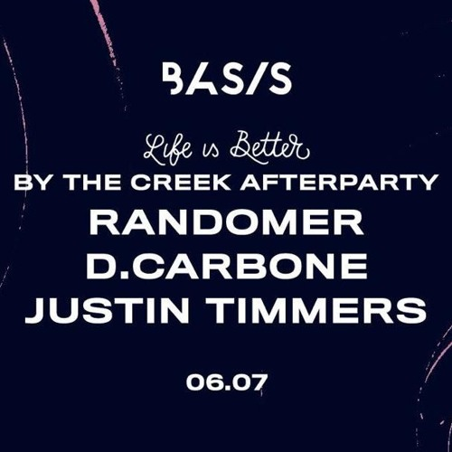 Justin Timmers - By The Creek Afterparty [06-07-2019]
