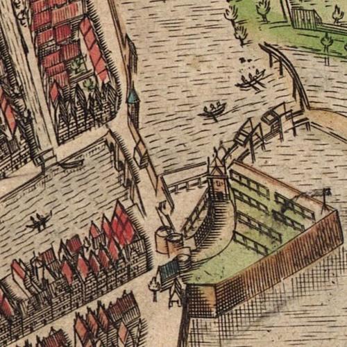 Mayflower 400: Leiden Map